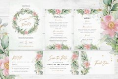 Eucalyptus Pink Floral Wedding Suite Product Image 2
