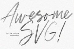 Triester SVG Brush Font Free Sans Product Image 5
