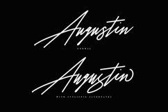 Augustia Signature Font Product Image 2