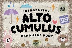 ALTOCUMULUS Font Product Image 1