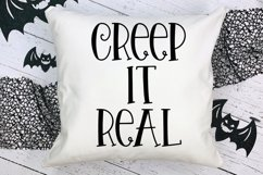 Halloween Night - A Spooky Hand-Lettered Font Product Image 4