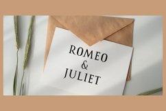 Romanus romance serif Product Image 3