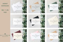Bundle Mockup Card and Envelope in PSD and JPG | Card mockup Product Image 2