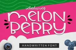 Melonberry | Smooth Handwritten Sans Product Image 1