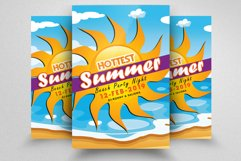 10 Summer Beach Cocktail Party Flyers Bundle Product Image 2