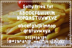 Salty Fries Font Trio Product Image 2
