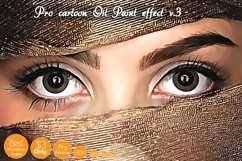 Pro Cartoon Oil Painting effect v.3 Product Image 6