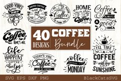 Coffee SVG bundle 40 designs Coffee SVG bundle Product Image 2