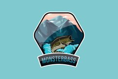 Monsterbass Badges set Product Image 2