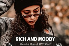 10 Rich And Moody Photoshop Actions And ACR Presets, fall Ps Product Image 1