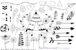 Hand Drawn clipart Product Image 1