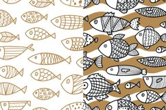 Gold and fish. Product Image 3