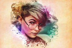 Watercolor Photoshop PSD Template Product Image 3