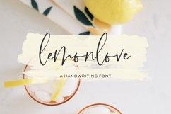 Lemonlove Script Product Image 1