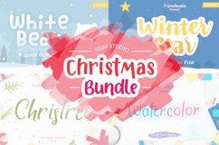 Trim Studio Christmas Bundle Fonts Collection Product Image 1