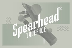 Spearhead Typeface | Font Product Image 1