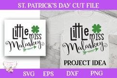 St. Patrick's Day SVG - Little Miss Malarkey Product Image 1