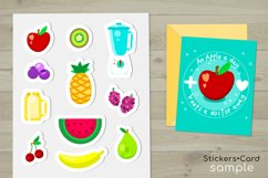 Fruits and Smoothies Clipart Product Image 5