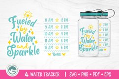 Unicorn / Mermaid / Fairy / Cat / Water Tracker SVG Cut File Product Image 3