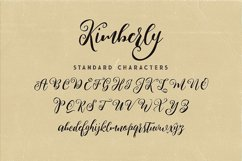 Kimberly Script Font Product Image 6