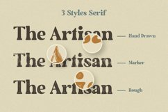 The Artisan | A Hand Drawn Font Duo Product Image 2