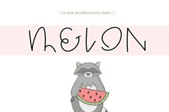 Melon - A Quirky Handwritten Font Product Image 1