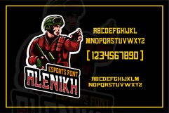 Alenikh Esports Font Logo Product Image 3