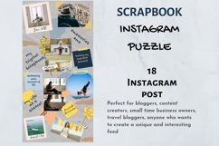 Instagram Puzzle Template Canva- My Scrapbook Product Image 5