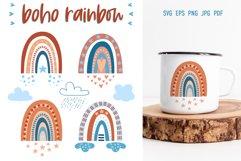 Bohemian Rainbow | SVG Cut Files Product Image 1