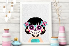 Day of the Dead clipart - Sugar Skull - Dia de los muertos Product Image 4