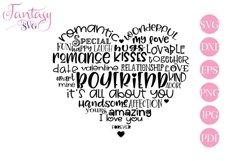 Boyfriend Word Art - Svg Cut Files Product Image 1