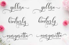 Delight Script | 4 Font Product Image 5