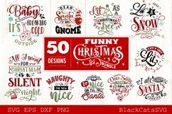 Funny Christmas SVG Bundle 50 designs Product Image 3