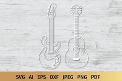 Guitar SVG | Music SVG Product Image 6