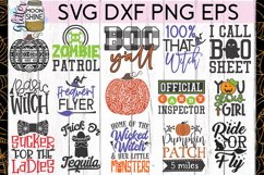 Huge Halloween Bundle of 50 SVG DXF PNG EPS Cutting Files Product Image 2