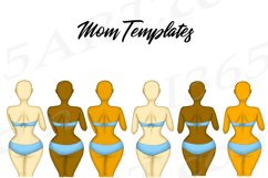 Best Friends Mother's Day Clipart Mom and Child Baby PNG Product Image 2