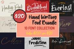 Hand Writing Font Bundle Product Image 1