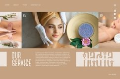 Flower Spa - Beautiful Display Font Product Image 5