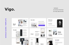 VIGO - Google Slides Presentation 20 Stock Photos & 4 Mockup Product Image 1