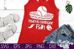 Baseball Fan, Baseball, Baseball Svg, Nacho Average Svg Product Image 3