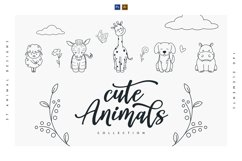 Cute Animals Collection Product Image 1