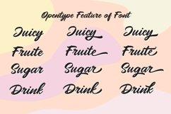 Mangotea - Script Font Product Image 2