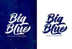 Big Blue Type Trio Product Image 2