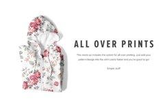 8 Premium Zip-Up Hoodie Mockups Product Image 3