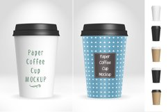 Paper Coffee Cup Mockup V1 Product Image 1