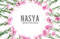 Nasya Slab Serif 4 Font Family Pack Product Image 1