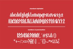 Christmas Hat Font | merry christmas font Product Image 7