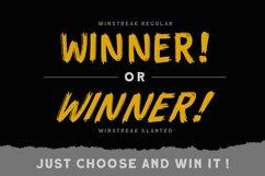 Winstreak - Brush Font Product Image 2