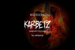 KARBETZ handwritten font Product Image 1