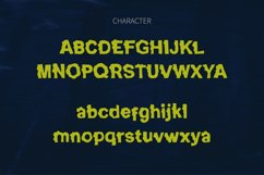 GhostBumps - Scary Display Font Product Image 3